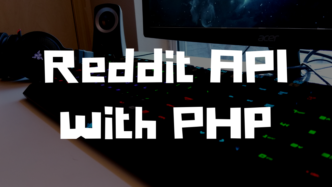 Reddit API with PHP