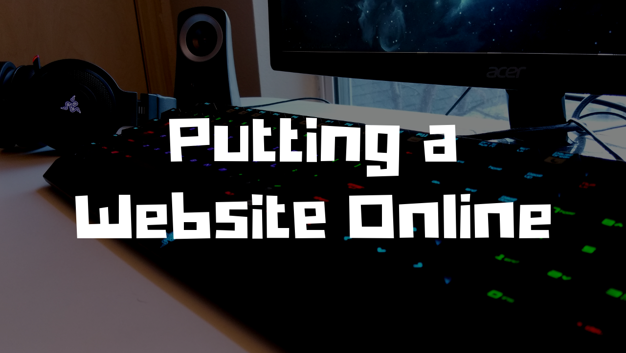 putting a website online