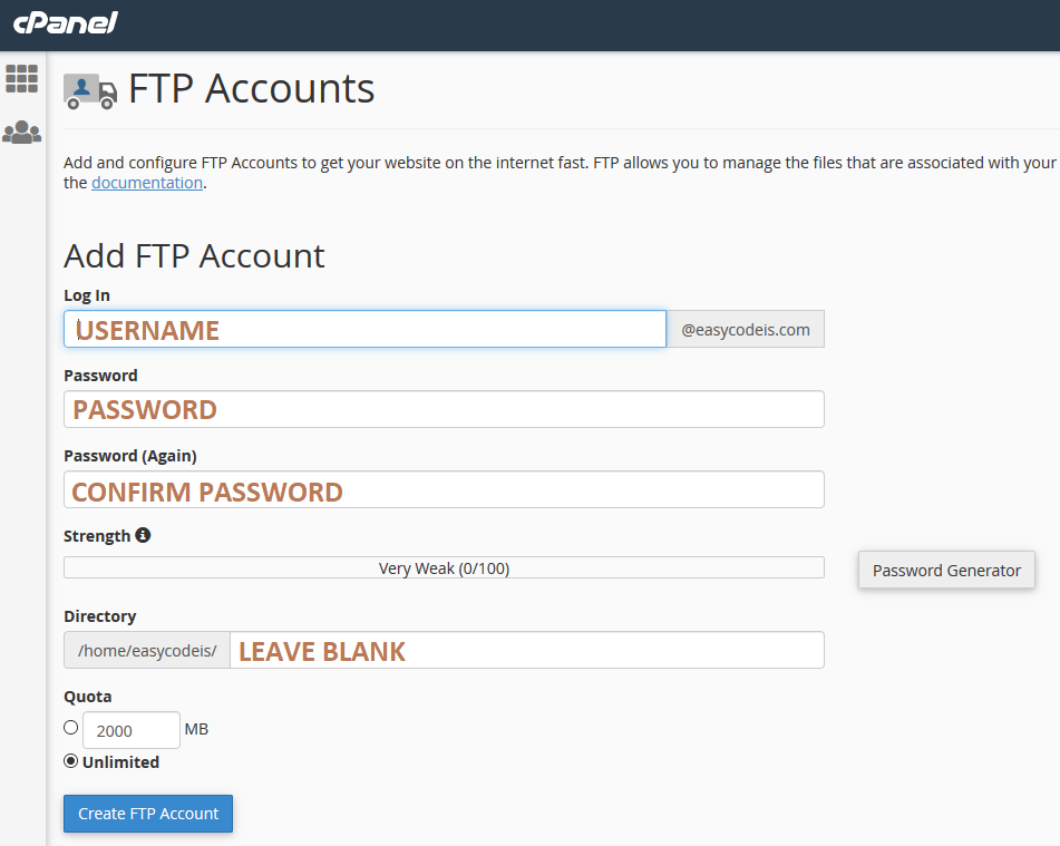 ftp user